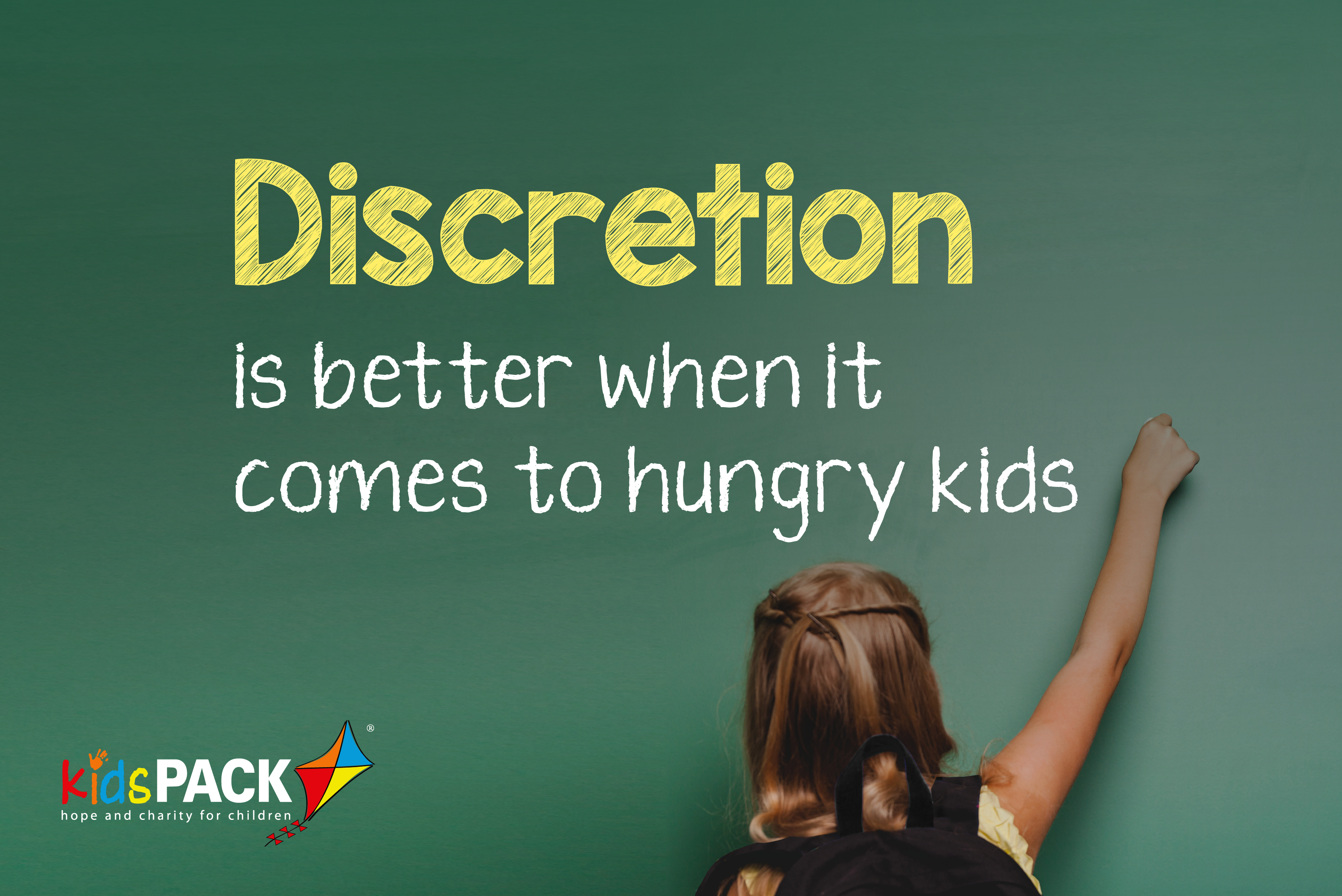 Discretion is Better When It Comes To Hungry Kids