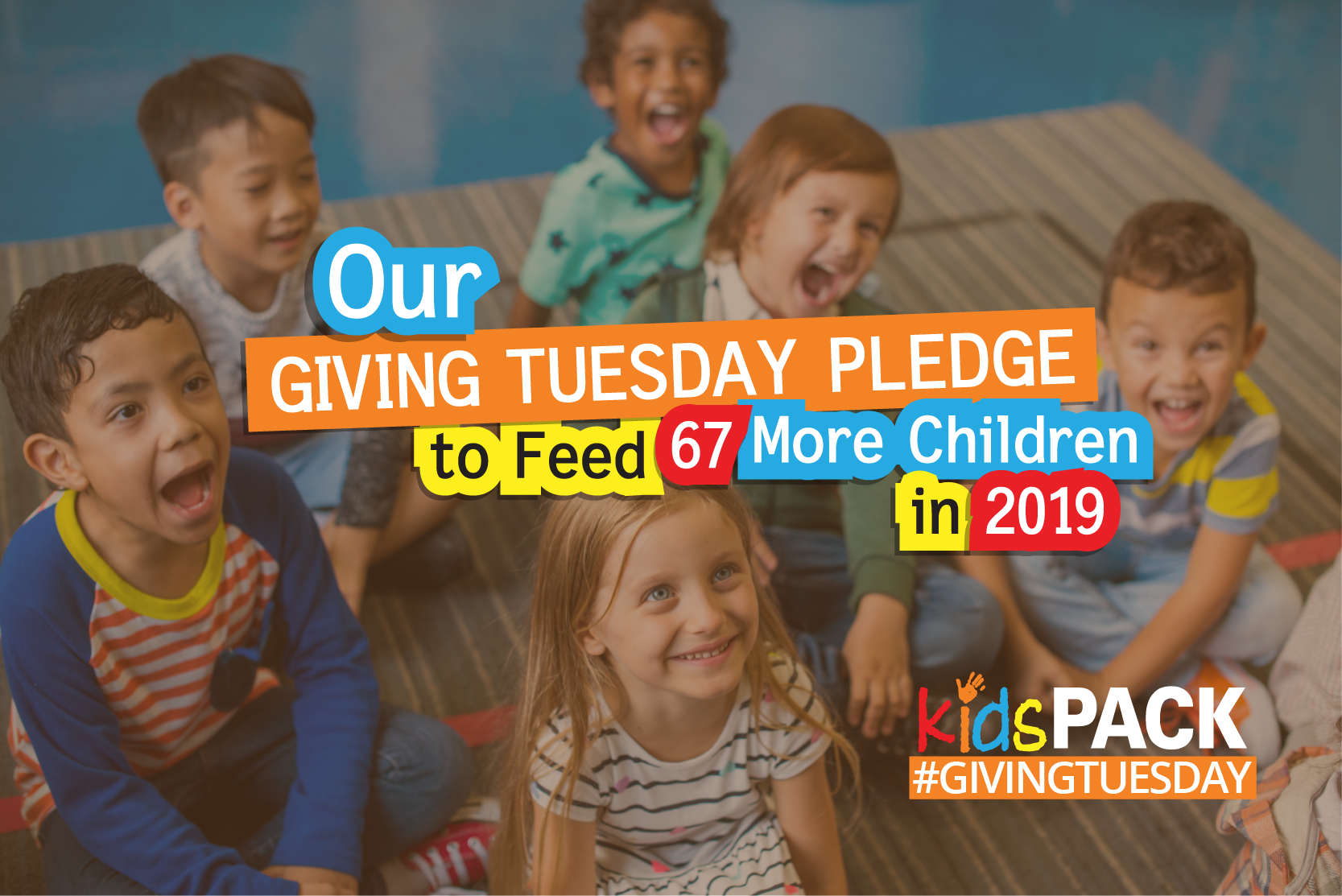 Our Giving Tuesday Pledge to Feed 67 More Children in 2019